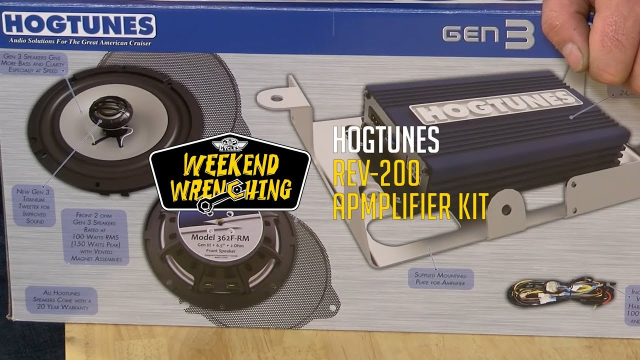 Hogtunes Amp Install Wiring Diagram Weekend Wrenching And Speaker Kit Installation Youtube 1280x720