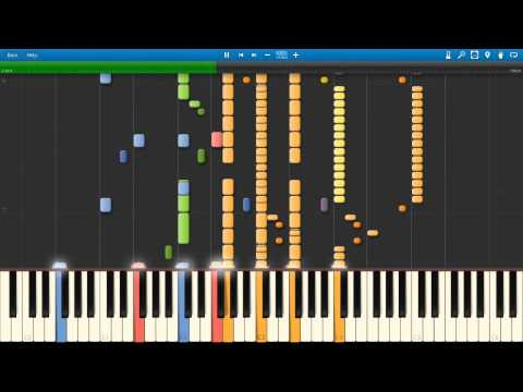 August's Rhapsody - Mark Mancina | August Rush | Synthesia