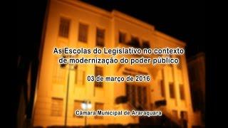 """Palestra: """"As ELs no contexto de modernização do Poder Público"""""""