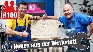 100. Folge! 🎉 VW Golf mit Zündaussetzern: Zündspule oxidiert | Es regnet aus dem VW-Transporter