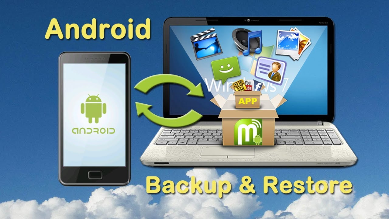Phone Backup Phone Data Android android phone backup restore how to and with a click on pc youtube