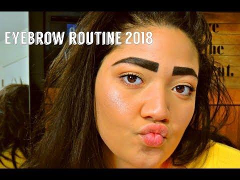 Eyebrow Routine|2018 JVN
