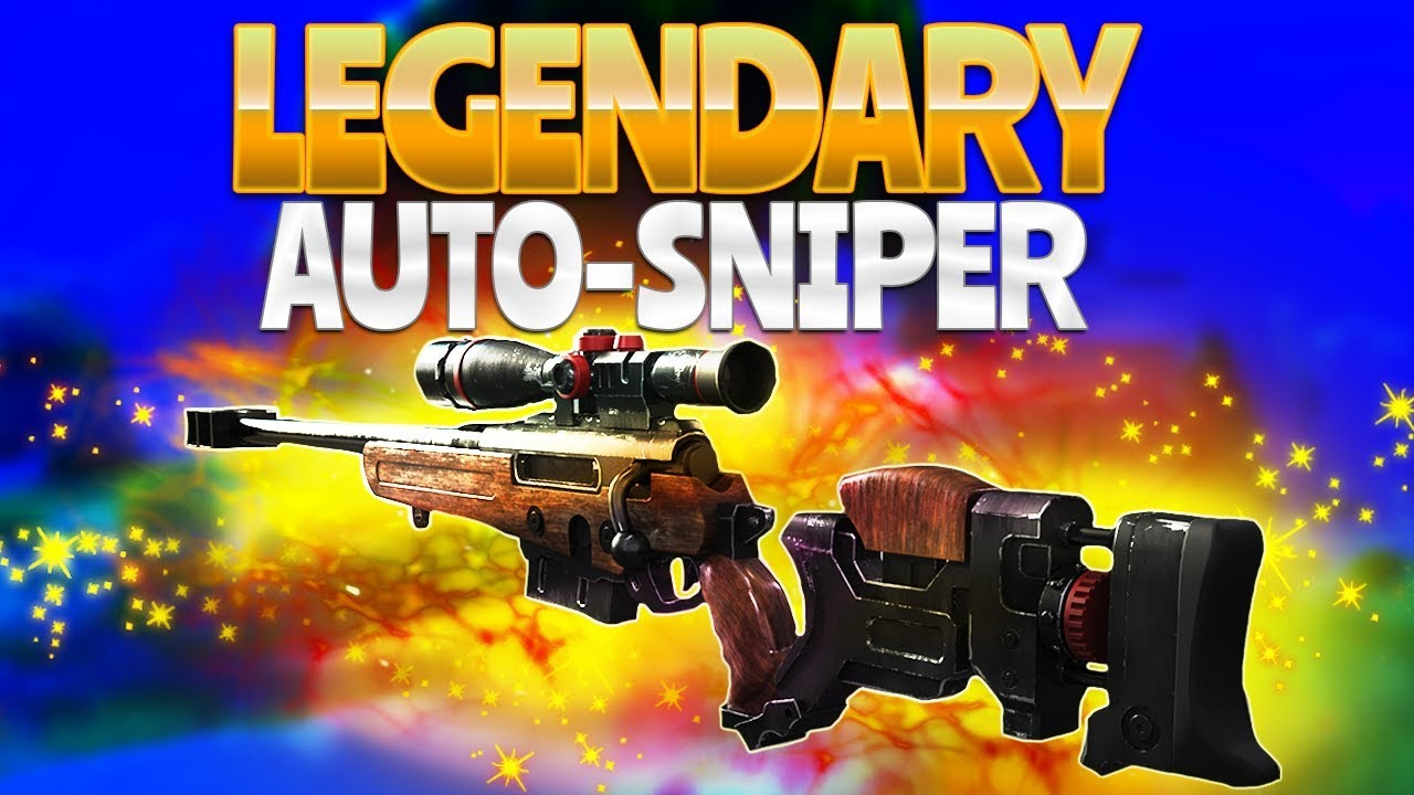 legendary auto sniper fortnite battle royale - fortnite sniping tips