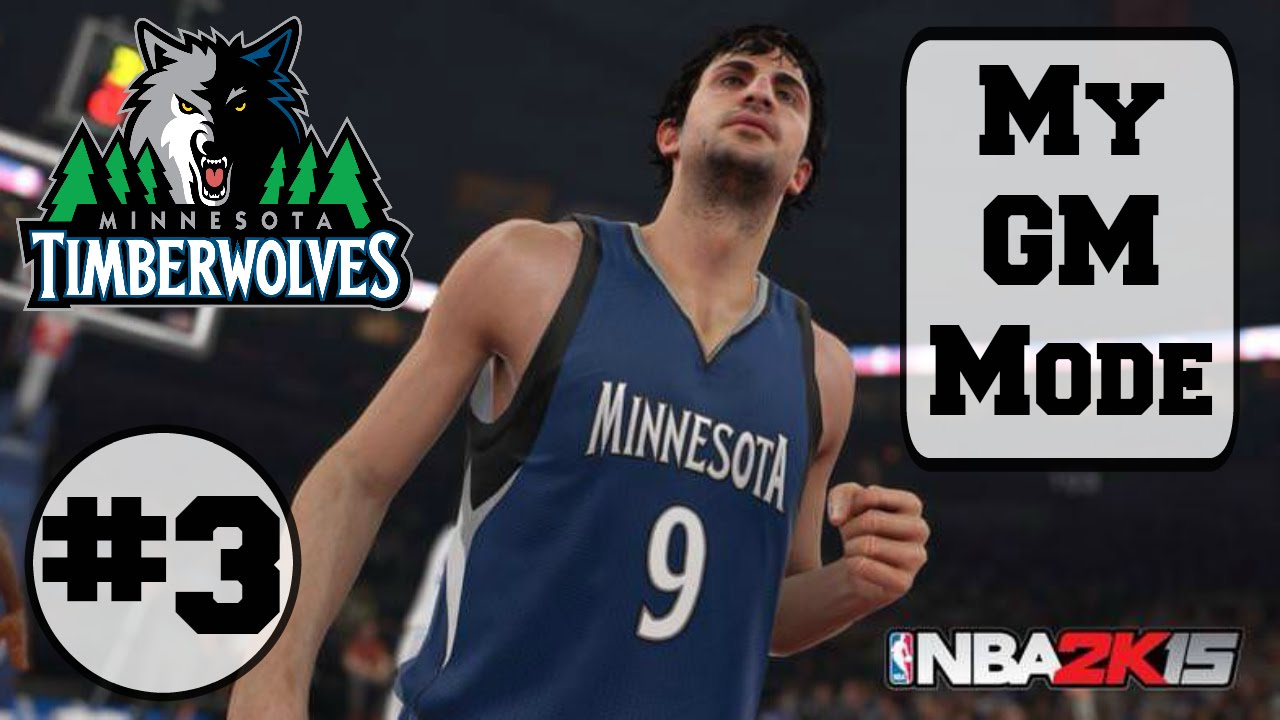 Nba2k15 All Sim My Gm Mode Minnesota Timberwolves 3 Ps4 Youtube