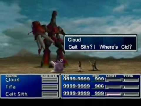 Final Fantasy VII:  Ode to Cait Sith