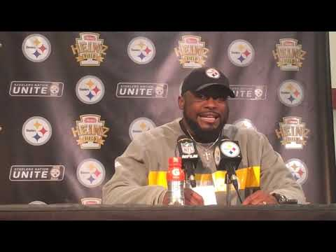 Mike Tomlin talks Pittsburgh synagogue shooting, tries to recap Steelers vs. Browns