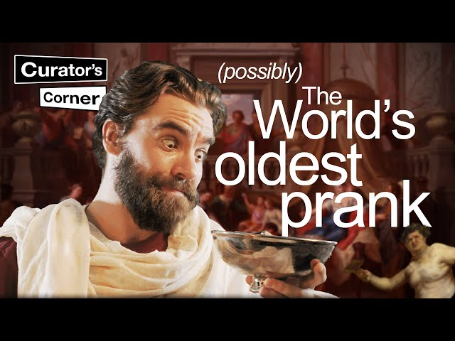 The world's first example of a Roman Pythagoras / Tantalus cup? I Curator's Corner S5 Ep 2