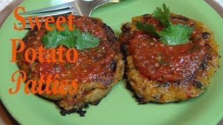 Sweet Potato, Quinoa And Black Bean Patties - Vegan Recipe