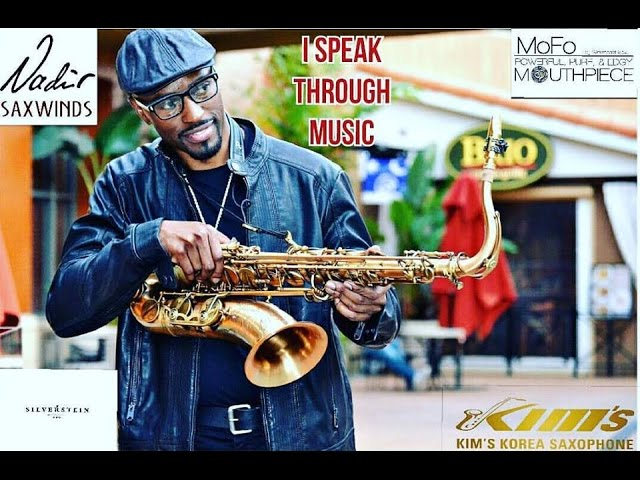 Saxophonist Marlon Boone covers Najee's Champs Elysees @ Hot and Saxxy 2016