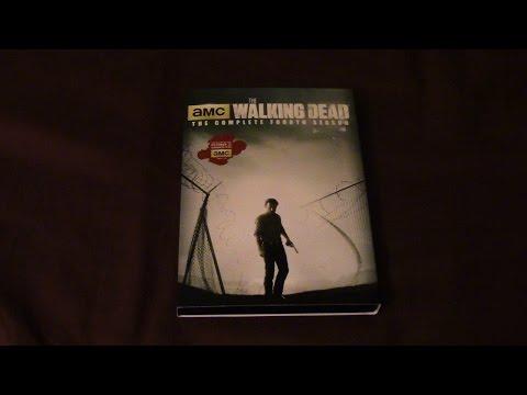 The Walking Dead Season 4 DVD Review/Unboxing (HD)
