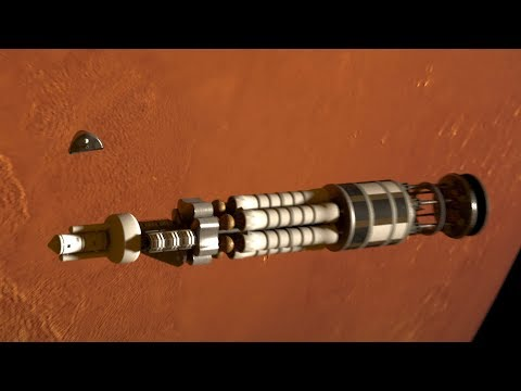 Project Orion: Secret Mars Mission Powered by Nuclear Bombs