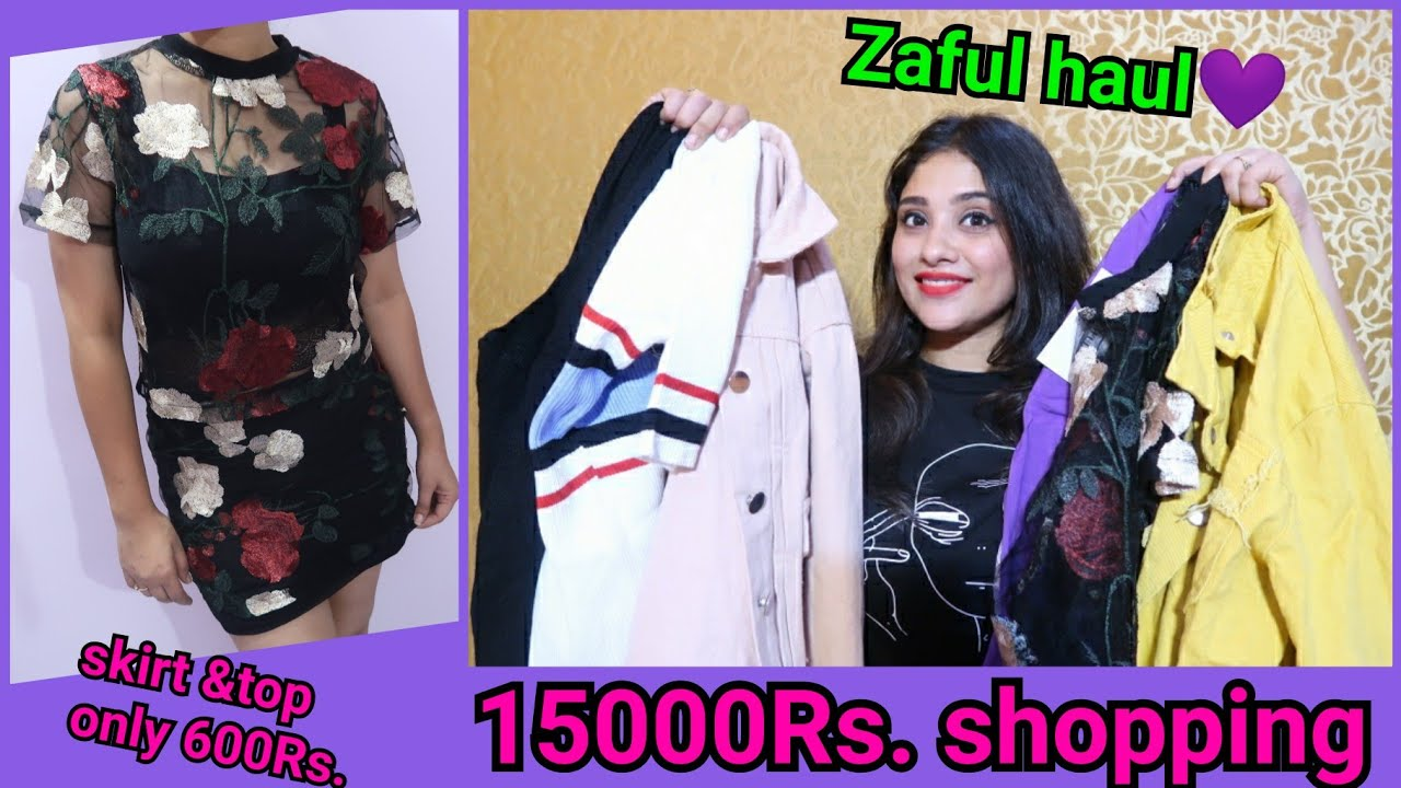 ZAFUL HAUL || first experience || shystyles