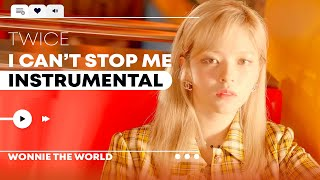 Download TWICE - I CAN'T STOP ME | Instrumental