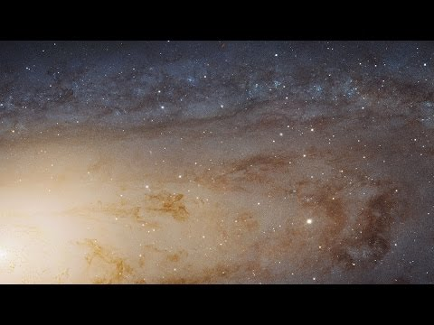 Andromeda Galaxy (Messier 31) In High Definition Panoramic View
