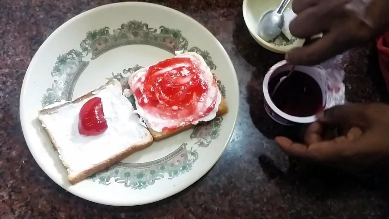 Bread Butter & Jam Recipe in Tamil - YouTube