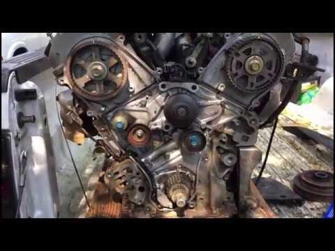 HONDA 3.5 ENGINE TIMING MARKS SET UP - YouTube