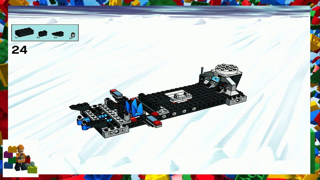 Lego Instructions Alpha Team Mobile Command Center 4746 Youtube
