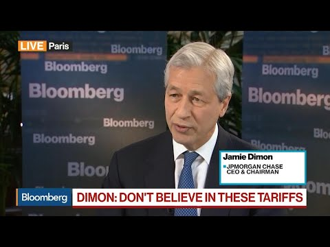 Dimon on Tariffs, Cohn, Chinese Banks, Amazon and Equal Pay