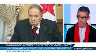 Renoncement de Bouteflika  :
