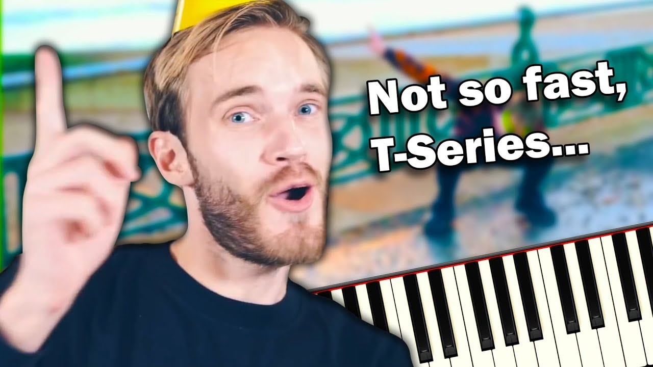 PEWDIEPIE – CONGRATULATIONS – AWESOME Piano Tutorial | Sheet