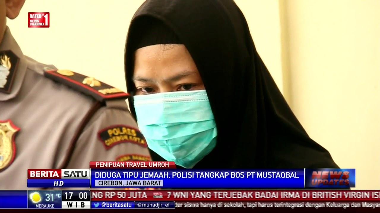 Polres Cirebon Ungkap Penipuan Calon Jemaah Umrah Mustaqbal Youtube