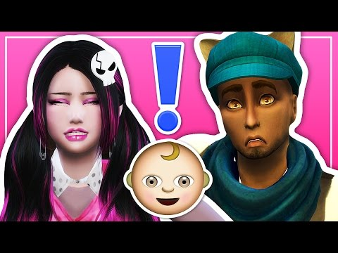 DRACULAURA HAS A BABY! 🚼 // The Sims 4: Monster High (Part 18)