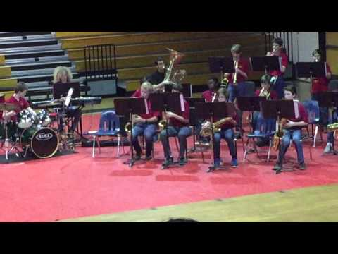 Besame Mucho, Druid Hills Middle School Jazz Band, March 30, 2016