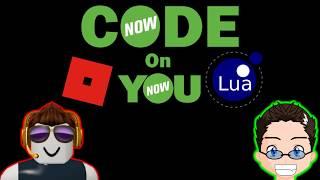 CodeNow - Roblox Lua Scripting