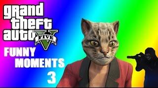 GTA 5 Funny Moments 3,Heist Vehicles,Beach Kittens and random stuff