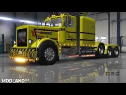 AMERICAN TRUCK SIMULATOR! CHECKING OUT THE HEAVY HAUL DLC