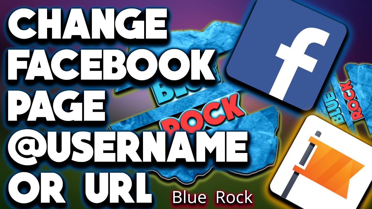 How to change facebook page @username | How to change facebook page url  2016 HD
