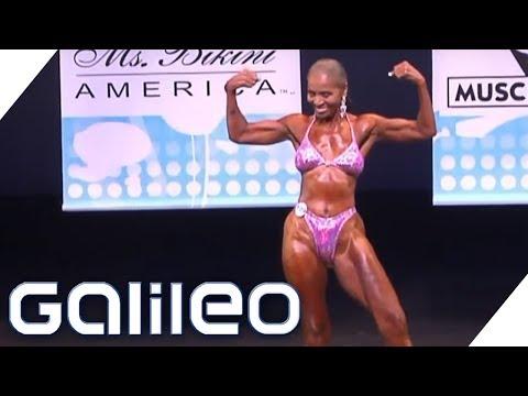 Die älteste Bodybuilderin der Welt | Galileo | ProSieben