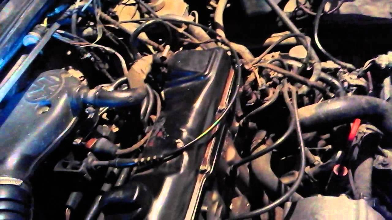 как определить тип двигателя, где выбит номер двс