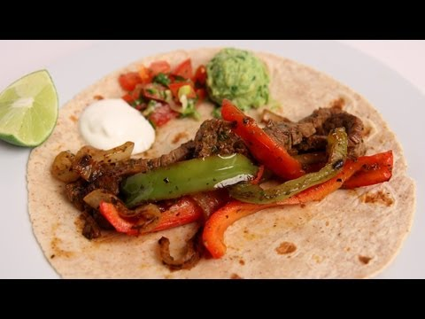 Homemade Steak Fajitas Recipe-Laura Vitale