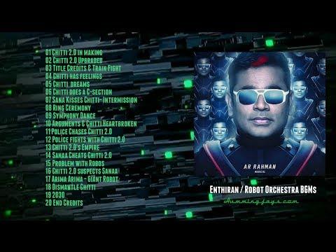 Orchestra BGMs of Enthiran (Robot) | An A.R.Rahman musical | Hummingjays.com