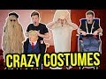 TRYING ON THE WEIRDEST HALLOWEEN COSTUMES
