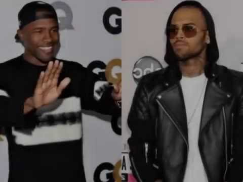 CHRIS BROWN :  Frank Ocean Will Not File Charges
