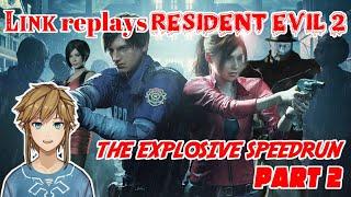 Link replays Resident Evil 2 - The Explosive Speedrun - part 2