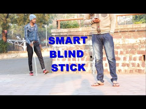 How to Make Smart Blind Stick at home