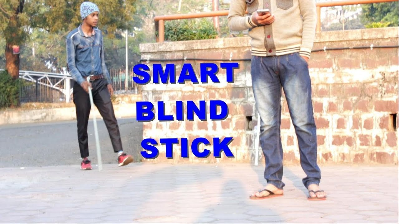 How To Make Smart Blind Stick At Home Youtube