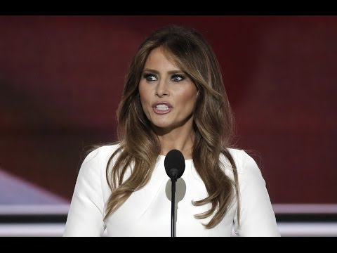 Melania Trump's full speech at the 2016 Republican National Convention