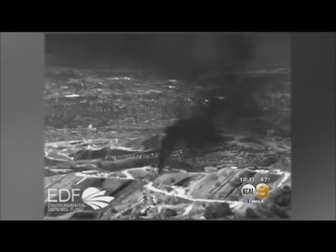 New Infrared Footage Shows Methane Spewing From Porter Ranch Gas Leak