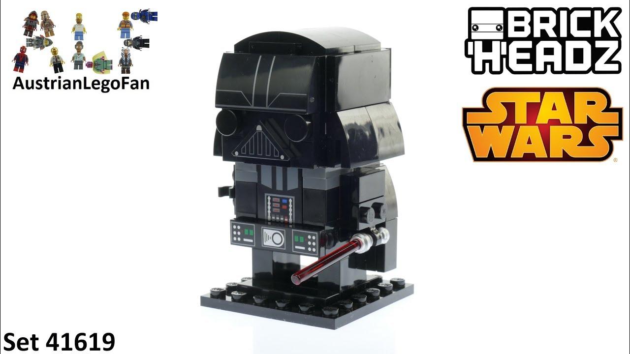 Lego Star Wars Brickheadz 41619 Darth Vader Lego Speed Build