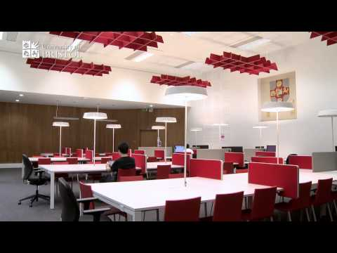 University of Bristol library study spaces