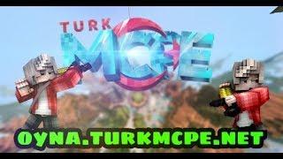[TürkMCPE] TürkMCPE Açıldı !!! | Sunucu Tanıtımları | Mcpe 1.4 faction Server