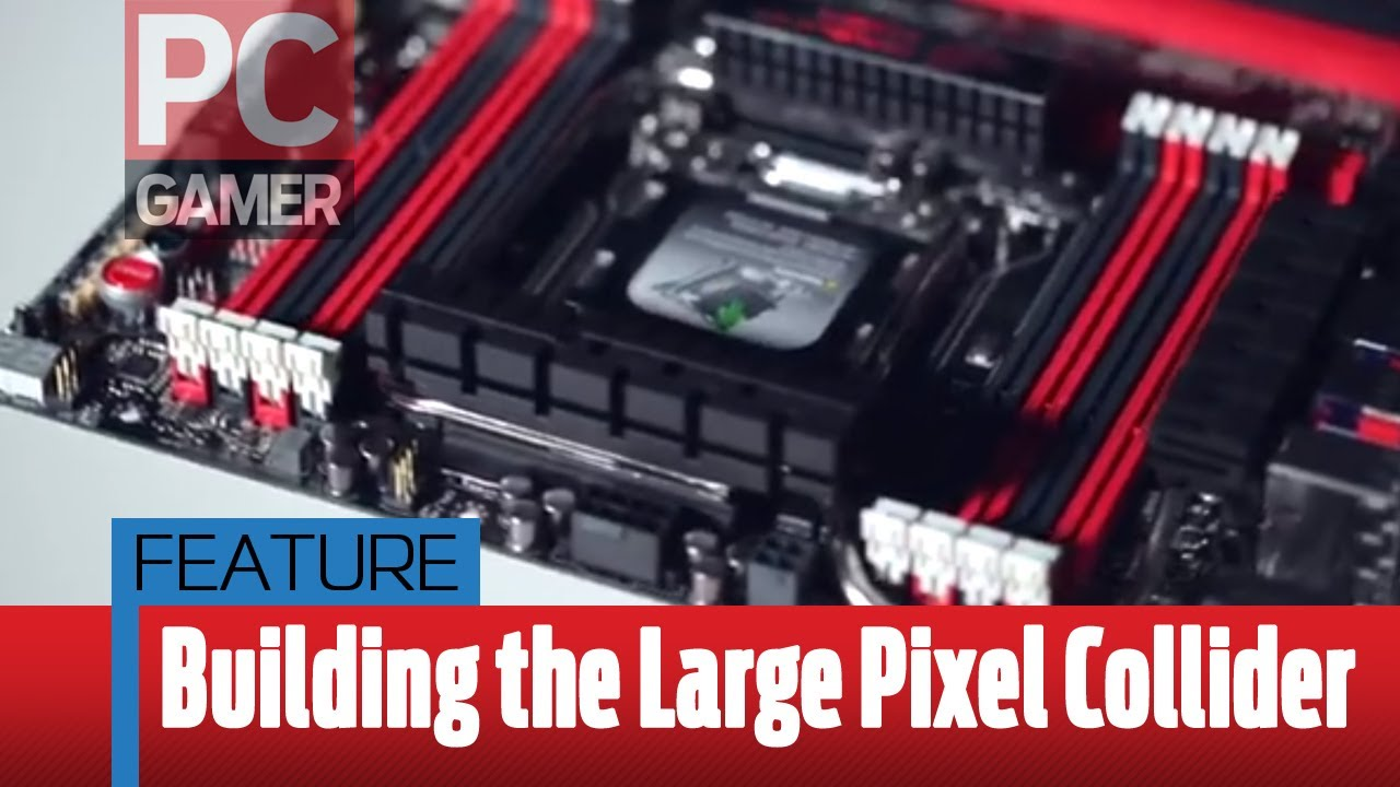 Building the Large Pixel Collider