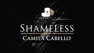 Camila Cabello - Shameless - Piano Karaoke / Sing Along Cover with Lyrics видео