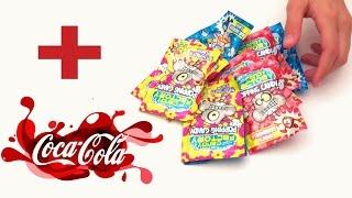 Coca cola + dulces explosivos | Experimento con coca cola