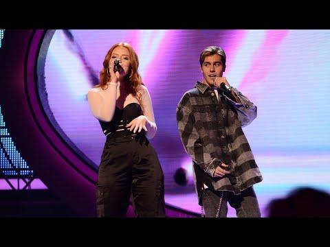 Benjamin Ingrosso & Nathalie: Sugar – Maroon 5 – Idol 2018 - Idol Sverige (TV4)