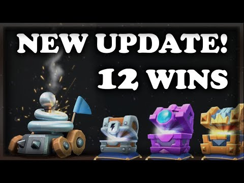 NEW Chest Openings | 12 WINS Zappies vs Hunter | Clash Royale 🍊